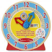 Развивающая игрушка Melissa&Doug Деревянные умные часы (MD14284)