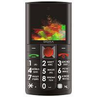 Мобильный телефон Sigma Comfort 50 Solo Black (4827798121511)
