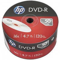 Диск DVD HP DVD-R 4.7GB 16X 50шт (69303)
