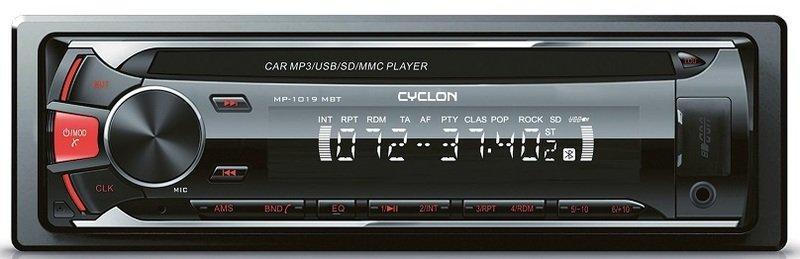 Автомагнитола Cyclone MP-1019R MBT