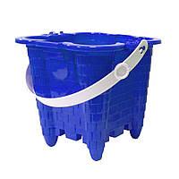 Ведерко для игры в песочнице, синий (1249)