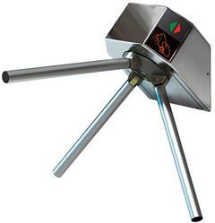 Турникет электроприводной окрашенная сталь Eco нержавеющая полированная сталь