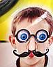 Карнавальные Очки с Выпученными Глазами Носом и Усами Прикол для Вечеринки Маскарад, фото 6
