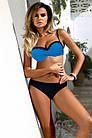 Стильный женский купальник раздельный бандо Хит сезона  Р-057, фото 2