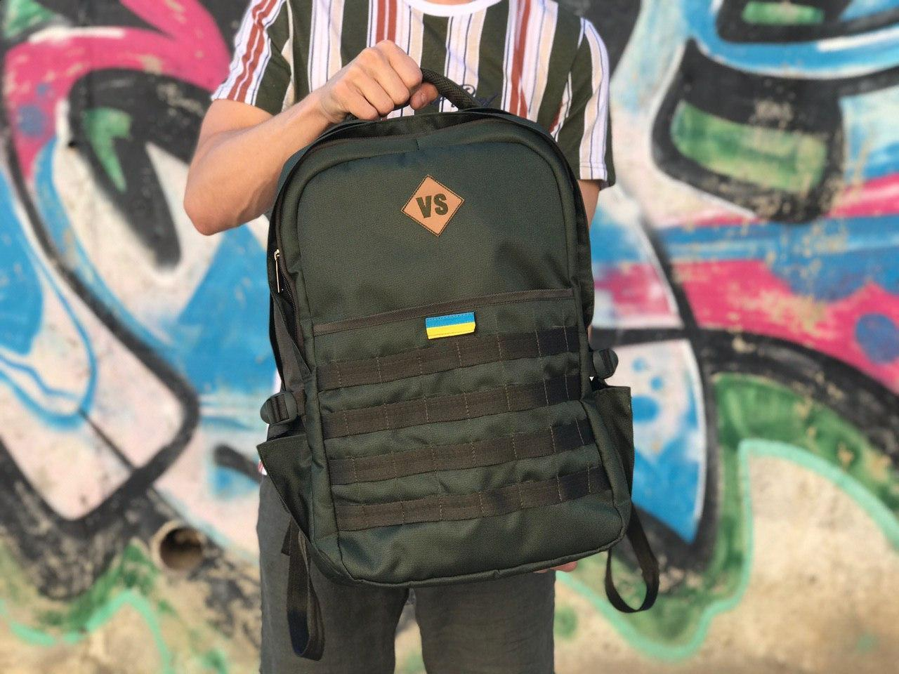 Мужской надежный рюкзак от производителя военной амуниции