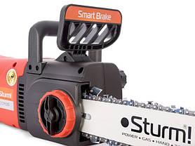 Пила цепная электрическая (2800 Вт, 405 мм, прямой двигатель) Sturm CC9928S, фото 2