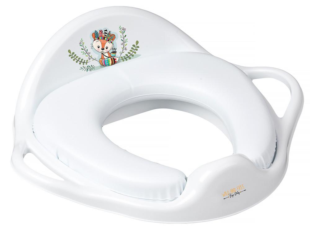 Накладка на унітаз Tega Wild & Free Little Fox DZ-020 м'яка 103 white