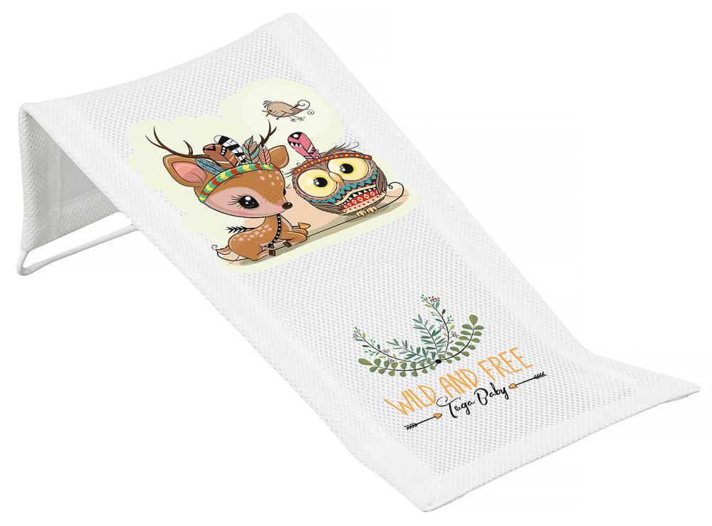 Гірка для купання Tega Wild & Free Little Deer DZ-026 (сітка) 103 white
