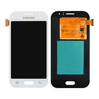 Дисплейный модуль LCD Samsung J110H/J1 Ace + touch White Copy