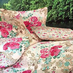 """""""пион"""" постельное белье Elway Premium полуторный размер 160*220 см,ткань сатин 100% хлопок"""