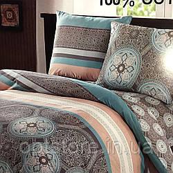 """""""узоры"""" постельное белье Elway Premium полуторный размер 160*220 см,ткань сатин 100% хлопок"""
