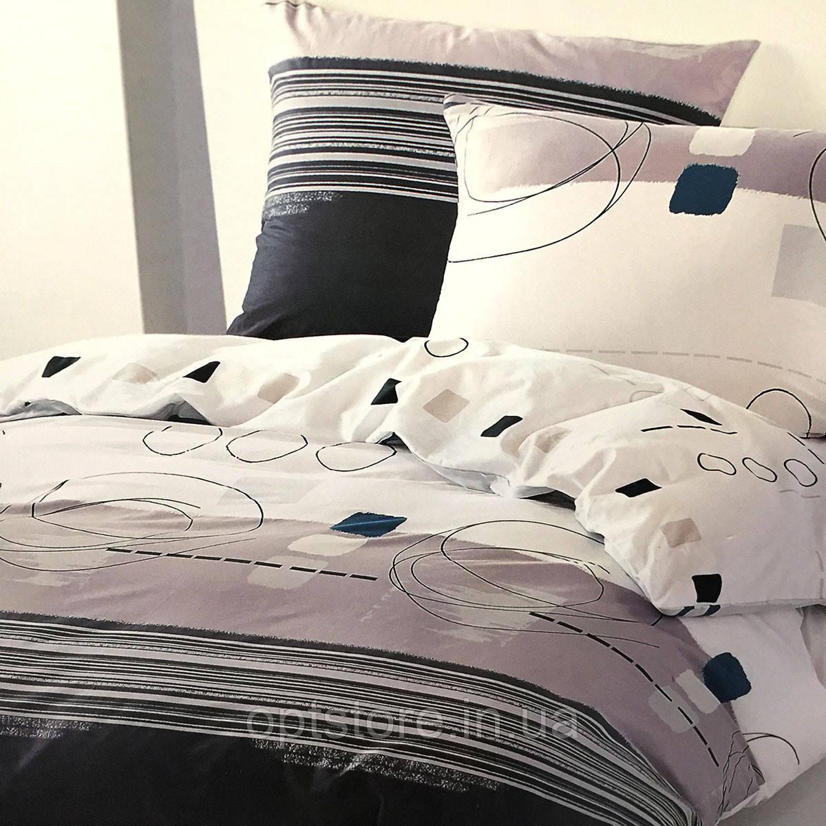 Постільна білизна Elway Premium євро розмір 200*220 см,тканина сатин 100% бавовна