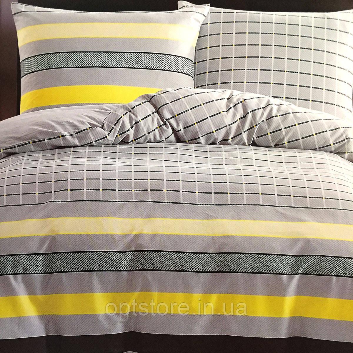 """""""полоска"""" постельное белье Elway Premium евро размер 200*220 см,ткань сатин 100% хлопок"""