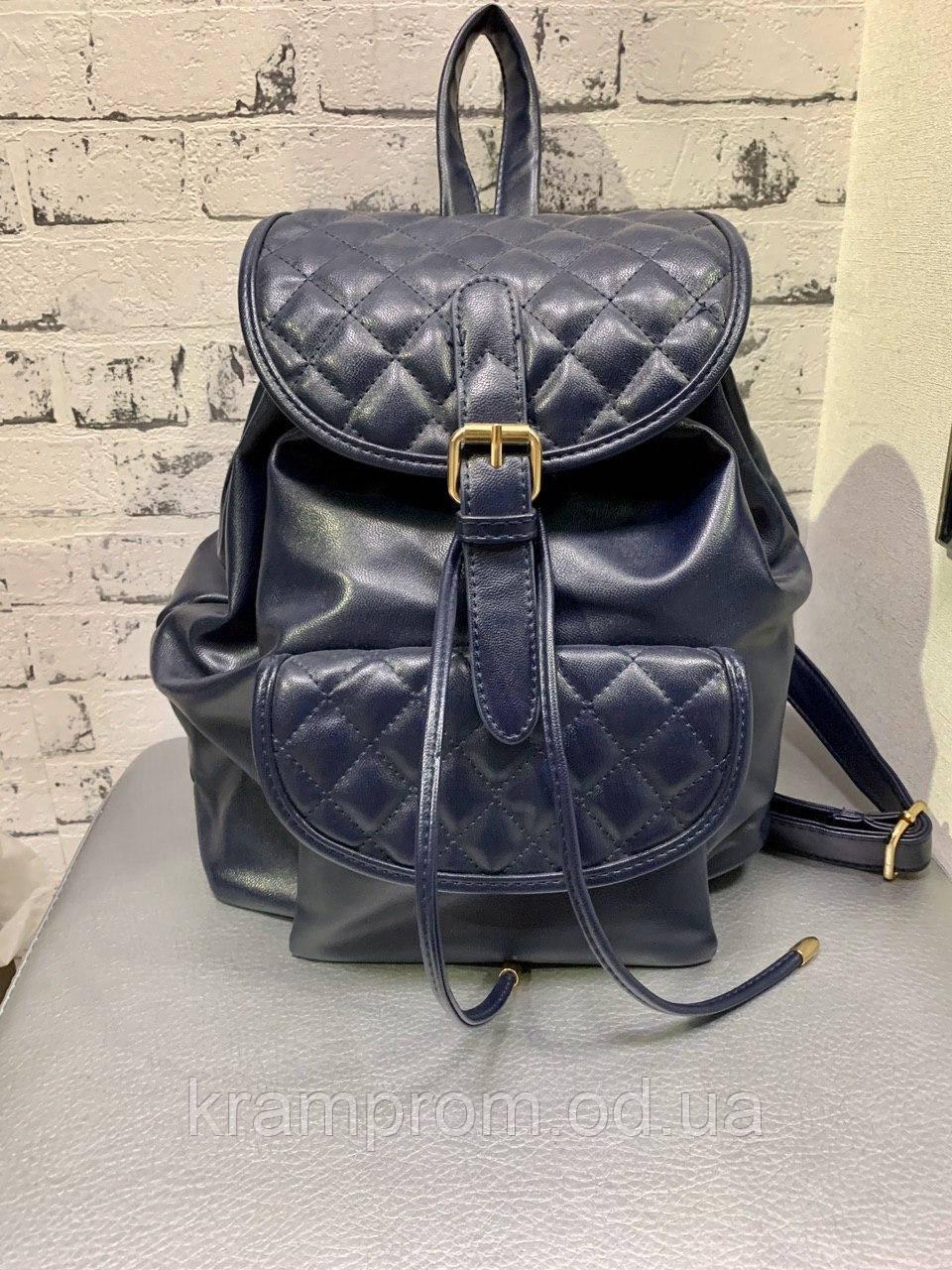Маленький женский рюкзак из эко кожи