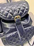 Маленький женский рюкзак из эко кожи, фото 3