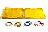Математический планшет WISSNER 15x15 см Желтый (hub_mJfI30760)