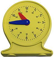 Лабораторная модель механических часов WISSNER для ученика 11 см Желтый (hub_XzrX03676)