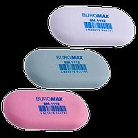 Buromax. Ластик овальный  (цвета в ассортименте) (4823078944191) для девочки