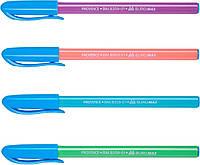 Buromax. Масляная ручка 1 шт Provence Синий 0.5 мм (цвета в ассортименте) (4823078930200) для мальчика