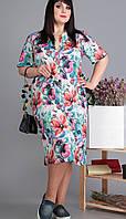 Платье скидка-Новелла Шарм 3513ск белорусский трикотаж, фото, 64