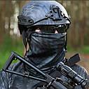 Балаклава маска (Ниндзя 2) Черная, Унисекс, фото 9
