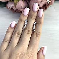 Серебряные серьги Kolibri с фианитами (2044352)