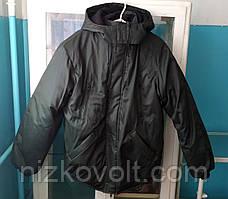 Куртка для охраны зимняя укороченная Без ворота с капюшоном