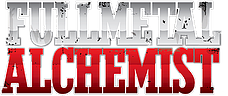 Стикеры Fullmetal Alchemist без порезки