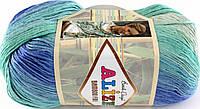 Пряжа Alize Bamboo Fine Batik 3684 (бамбу файн батик)