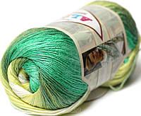 Пряжа Alize Bamboo Fine Batik 4557 (бамбу файн батик)