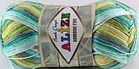 Пряжа Alize Bamboo Fine Batik 5518 (бамбу файн батик)