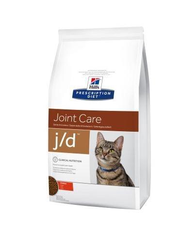Хиллс Hills PD Feline J / D  сухой корм для кошек, снижениe боли и воспаления при остеоартрите, 2 кг
