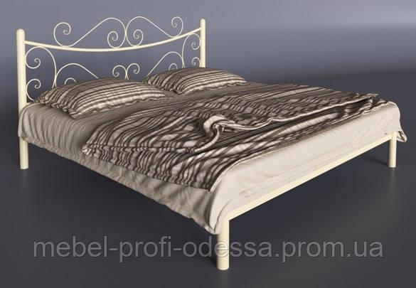 Азалия 1600х2000 Металлическая двуспальная Кровать фабрика Тенеро (Tenero) в Одессе