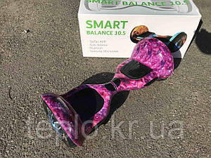 "Гироскутер SMART BALANCE 10,5"" гироборд с размером колёс 10,5"" дюймов аккумулятором Samsung и платами TAO TAO"
