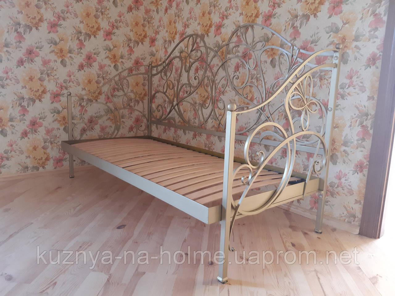 Кованый диван-софа, односпальная кровать