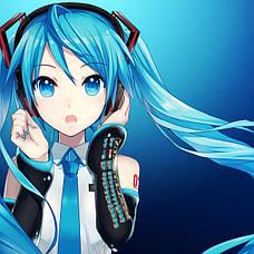 Стикеры Vocaloid без порезки