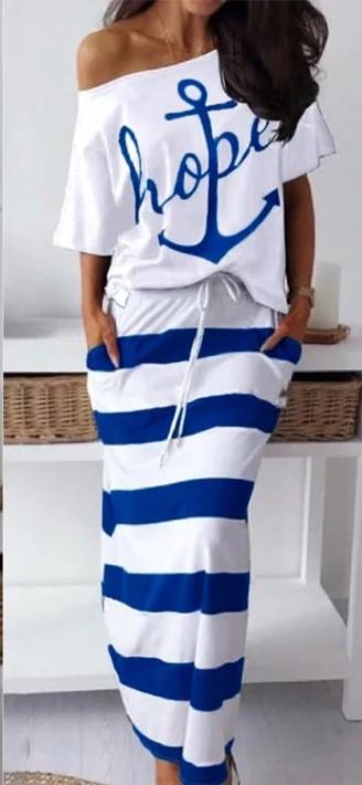 """Летний костюм в морском стиле """"Maritime"""""""