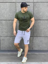 Комплекты мужские футболка+шорты