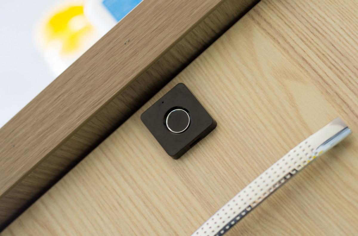 Мебельный биометрический замок SEVEN LOCK F-08