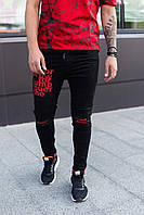 Мужские джинсы Mariano 979 black, фото 1