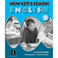 "New Let's Learn English 4. Activity Book Вид.""Longman"""