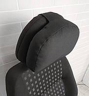 Подушка на подголовник в авто под голову и шею EKKOSEAT. Универсальная.