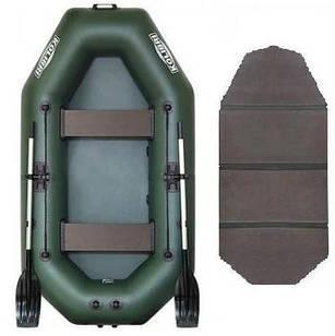 Надувная лодка Kolibri К-240 Стандарт с пайолом слань-книжка