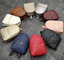 Рюкзак стильний кожзам
