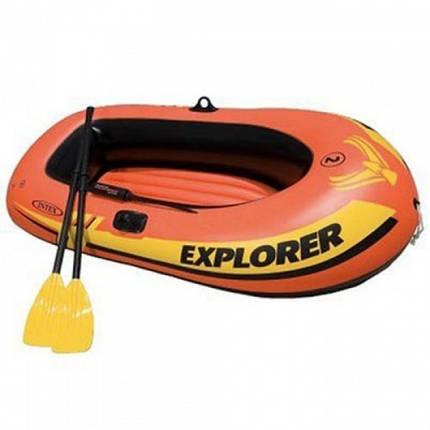 Лодка надувная Intex 58331 EXPLORER с веслами и насосом, фото 2