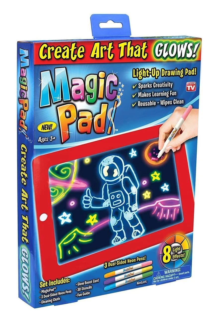 Светодиодный планшет для рисования MAGIC SKETCHPAD