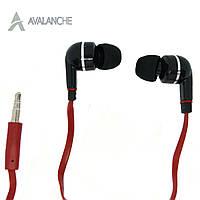 Наушники для телефона проводные вакуумные AVALANCHE MP3-384