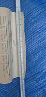 Термометр лабораторный ртутный ТЛ 4( 0+55),ц.д 0.1 °С,возможна калибровка в УкрЦСМ, фото 1