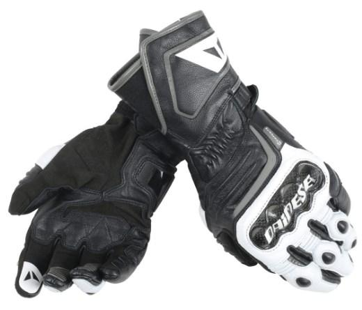 Мотоперчатки Dainese Carbon D1 Long Black/White