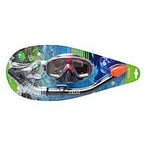 Дитячий набір для плавання і пірнання - маска і трубка від 8 років, Intex 55949